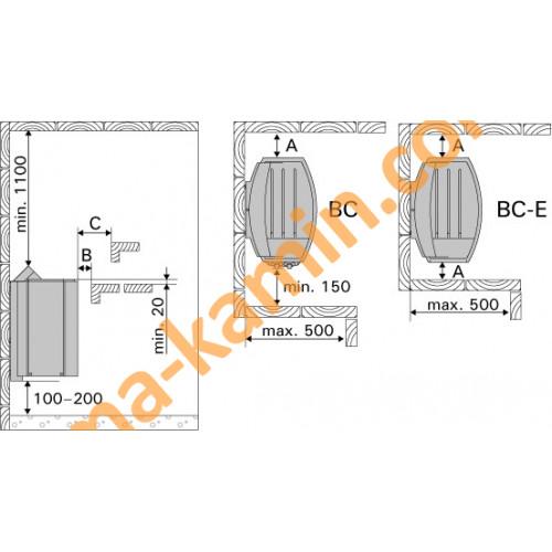 Электрокаменка HARVIA VEGA BC80E